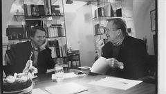 Havel 80: Já se choval ekologicky, když ty jsi ještě nebyl, řekl Havel Bursíkovi