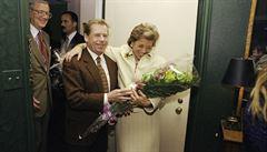 Havel 80: S poradcem prezidentů jsme se v létě 1989 podívali na Hrádeček, vzpomíná Luersová