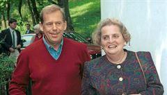 Havel 80: Havlova nepřítomnost je znát v Česku, Evropě i na celém světě, říká Albrightová