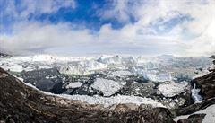 Tající led. Tajnou americkou základnu v Grónsku ohrožuje oteplování