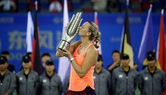 Po více než roce vyhrála Kvitová turnaj. Odnesla to Slovenka Cibulková