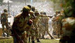 Při pokusu o převrat v Etiopii zavraždili náčelníka generálního štábu. Střílelo se i v hlavním městě