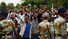 Etiopie: Hrozba výbuchu kvůli porušování lidských práv