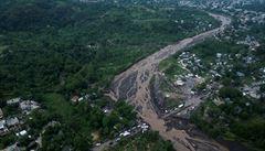 Záběry z letadla dokumentují zkázu po hurikánu na Haiti