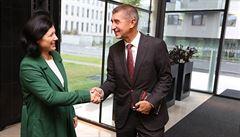 Jourová: V kauze Andreje Babiše je třeba počkat na oficiální stanovisko Evropské komise