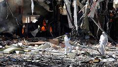 USA po masakru v Saná přehodnocují podporu koalici vedené Saúdskou Arábií