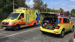 Starší muž vypadl z budovy České televize. Přes půlhodinovou resuscitaci zemřel