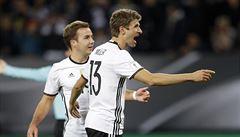 Německo - Česko 3:0. Češi propadli ve všem. Od většího přídělu je zachránil Vaclík