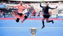 Česko-americká jízda pokračuje. Šafářová s Mattekovou-Sandsovou získaly v Pekingu třetí titul v řadě