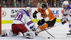 Voráček poprvé skóroval, dvěma góly přispěl k výhře Flyers