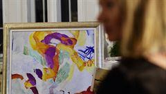 Ve švédské aukci se bude dražit Kupkův obraz Vzlet. Může vynést až 23 milionů