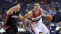 NBA: Washington začal nový rok vítězně, Satoranský dal 10 bodů
