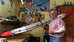 Modelář Karel Jeřábek za 60 let postavil 350 modelů raket a letadel