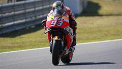Španěl Márquez je potřetí mistrem světa v MotoGP, Kornfeil vybojoval 3 body