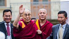 Hrad nepovolil pódium pro dalajlamu. 'Azyl' mu poskytla Národní galerie