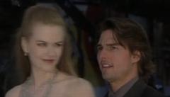 Tom Cruise a Nicole Kidmanová v Benátkách na filmovém festivalu