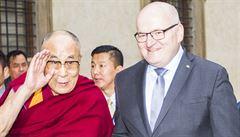 Nic jsem neslíbil. Herman podpořil nápad zveřejnit záznam z jednání o dalajlamovi