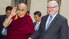 Senát se distancoval od pročínského 'prohlášení čtyř'. Bude hájit lidská práva Tibeťanů