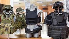 O neprůstřelné vesty české firmy Moira má zájem FBI