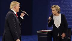 Tři dny před volbami vede Clintonová těsně nad Trumpem