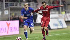 Slavia v dohrávce rozmetla Brno 4:1 a po vysoké výhře jde před Spartu i Zlín