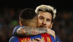 Kouzelník Messi vsítil hattrick a zařídil Barceloně výhru, Arsenal vstřelil šest gólů