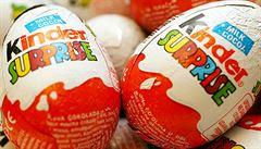 Jisté potraviny jako například čokoládová vajíčka v některých zemích nekoupíte