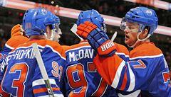 Nezastavitelní jako za vlády Gretzkého. Mladé pušky z Edmontonu vládnou západu NHL