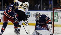 NHL: Pastrňák popáté skóroval, Boston ale znovu prohrál