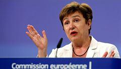 Místopředsedkyně Evropské komise Georgievová končí, odchází do Světové banky