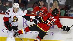 NHL: Frolík dalším gólem pečetil výhru Calgary, Sedlák opět asistoval