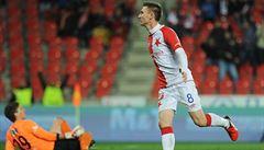 Slavia je k nezastavení. Porazila Slovácko a připsala si šesté vítězství v řadě