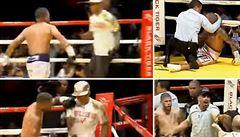VIDEO: Slavný portorický boxer zbil nejprve svého soupeře a poté také jeho trenéra