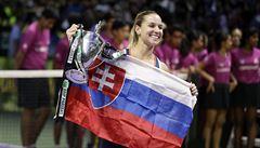 Šťastná Cibulková: Chtěla jsem jet na dovolenou, ale teď letíme domů ukázat trofej