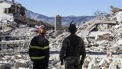 ,Arquata už neexistuje'. Itálii zasáhlo silné zemětřesení