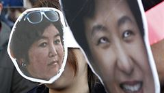 Jihokorejská prezidentka vyměnila premiéra i ministra financí. Kryje tím svůj skandál