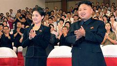 Žena Kim Čong-una zmizela. Veřejnost ji neviděla už sedm měsíců