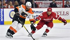 NHL: Voráček podpořil přihrávkou pátou výhru Philadelphie v řadě