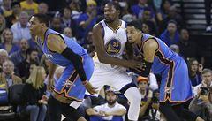 NBA: Durant pomohl Golden State porazit svou bývalou Oklahomu