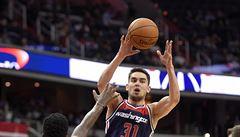 NBA: Satoranský dal jen dva body a Washington popáté v sezoně prohrál