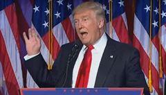Trump bude 45. prezidentem USA. Clintonová uznala porážku, Putin doufá ve spolupráci