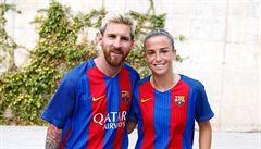 VIDEO: Barcelona našla Messiho v sukni. Útočnice se blýskla slalomem přes půl hřiště