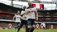 Anglický kanonýr Kane vytvořil rekord Premier League. Je i nejlepším střelcem Evropy