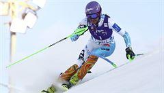 Strachová byla v úvodním slalomu SP sedmá, vyhrála Shiffrinová