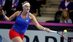 Kvitová začne Fed Cup s Golubicovou, kvůli viróze zatím chybí Plíšková