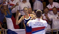 Česká jednička Plíšková po maratonu ve finále Fed Cupu: Jsem na sebe pyšná