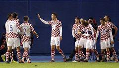 Chorvaté zvládli těžkou zkoušku s Islandem a stejně jako Irové mají už deset bodů