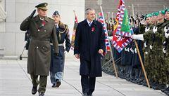 Lidé si připomněli válečné veterány, největší akce proběhla na pražském Vítkově