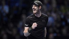 Rekordní zápas na Masters vyhrál Murray. Ve finále se utká s obhájcem Djokovičem