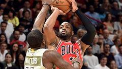 NBA: Wade prožil s basketbalisty Chicaga vítězný návrat do Miami